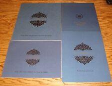 Original 1967 Cadillac Sales Brochure Lot of 4 67 Deluxe Fleetwood Eldorado