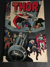 Thor #156 8.5 Vf+ White Pages