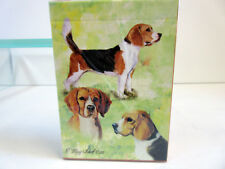 New Beagles Poker Playing Card Set of Cards by Ruth Maystead 3 Beagle BEA-PC