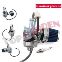 PZ26 Carburateur + Filtre à Air + Bougie pr Honda XR100 XR200 TRX250 CB125 CG125