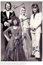 ABBA ++Autogramme++ ++POP Legende 70er Jahre++5
