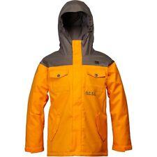 DC Shoes Boys Servo 14 Snowboard Jacket (M) Dark Gull Grey / Autumn Glory