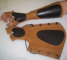 ARM combinatoire 1 XL pour le main droite avec arc de gants marron parabracci