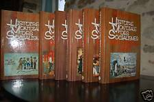 HISTOIRE MONDIALE DES SOCIALISMES (6tomes Elleinstein)
