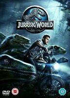 JURASSIC WORLD CHRIS PRATT BRYCE DALLAS HOWARD UNIVERSAL 2015 DVD NEW & SEALED