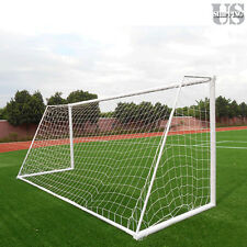 PE Polyethylene 12x6Ft Football Net Soccer Goal Post Training Match (Net only)