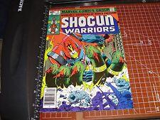 Shogun Warriors #11 Marvel Comics Dec 1979 Mattel vs Hand of 5 Heads Tokyo fight