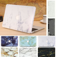 Keyboard Skin For Macbook Air Pro 11 13/'/' 2in1 Marble Hard Case Cover Retina