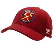 Umbro WEST HAM UNITED FC Baseball Cap Hat Hammers Birthday Fathers Gift