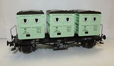 Brawa 37159 O GAUGE RAIL ROAD Container Car BTS30 DB III Schwarzkopf