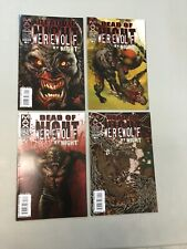 Dead Of Night Werewolf By Night 1-4 Complete Set 1 2 3 4 Marvel Max Comics 2009