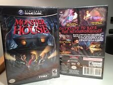 MONSTER HOUSE for GAMECUBE, Wii ~ NEW, SEALED & RARE,  9 PHOTOS, TRUSTED SELLER!