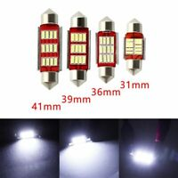 CANbus Bombilla C5W LED 4014 12smd Festoon Dome Light Coche, lámpara de lectura
