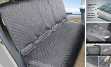 New listing Bench Dog Car Seat Cover for Back Seat, 100% Waterproof Dog Car X-Large Grey