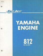 1971 SNO-JET YAMAHA  ENGINE 812 (SS-SL 292) PARTS MANUAL (850)