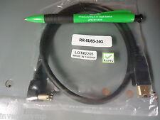 "USB Firewire RR-6U6S-24G 24"" 6-pin Male to Male Firewire. Brand New!"