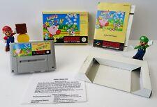 Super Nintendo SNES Spiel - Kirby´s Ghost Trap + Anleitung + OVP - CIB