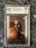 2003 Lebron James Rookie Card 10 Mint