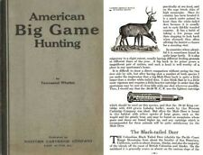 Western Cartridge Co. - American Big Game Hunting - 1925