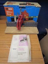 Vintage Sears Craftsman Miter box u0026 Original Box by Sears NICE! Light Use. & Miter Box | eBay Aboutintivar.Com
