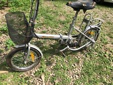 vintage foldable electric speed 240 bike