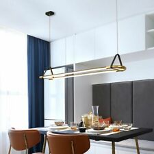 Home Decoration Pendant Lights Golden Black Painted Aluminum LED Modern Lighting