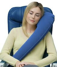 Travelrest Ultimate Inflatable Travel Pillow Neck Head Shoulder Support (Blue)