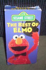 Sesame Street The Best of Elmo Whoopi Goldberg Muppets VHS Big Bird Zoe