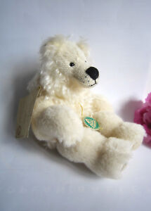 Hermann mohair bear Theo by Annette Rauch. Limited edition. Rare.