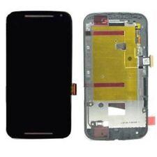 Pantalla Motorola Moto G2  XT1068 (lcd,tactil,marco) Color negro NUEVO