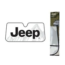 Jeep Classic Elite Mopar Windshield Folding Front Reflective Sun Shade Sunshade