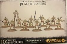 Warhammer 40K & Age of Sigmar, Chaos Lesser DAEMONS OF NURGLE, PLAGUEBEARERS new