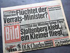BILD Zeitung 31.3.1992 Bildzeitung 31.03.1992 März Geschenk Geburtstag