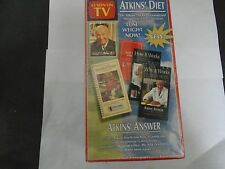 Atkins Diet Weight Loss For Life System ( Brand New ) Box Set