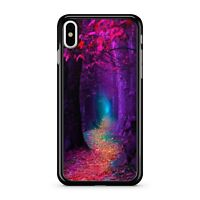 Magical Purple Enchanted Red Pretty Green Lush Blue Forest 2D Phone Case Cover