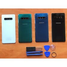 Samsung Galaxy G975F S10 Plus Rear Back Glass Battery Cover Camera Replacement