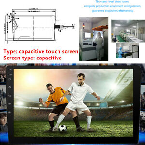 9 inch High Resolution Capacitive Touch Display Large Screen Car Navigator Trims