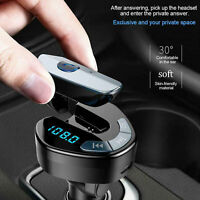 Car Bluetooth Kit FM Transmitter MP3 Player Handsfree Radio Adapter USB Charger