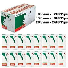 More details for swan menthol extra slim filter tips 5mm pre-cut cigarette tobacco