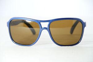Vintage Vuarnet 003 Blue Gitan Sunglasses PX2000 Brown lens