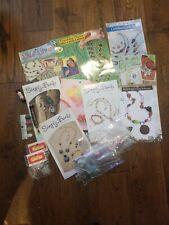 Lot of Asst. Jewelery Making Patterns-Leaflets-Beads