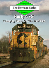 Railroad DVD: Early CSX, Volume 2 - Chessie System, Seaboard System, L&N, B&O