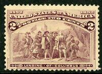 USA 1893 Columbian 2¢ Scott # 231 Mint B571⭐⭐⭐⭐⭐⭐