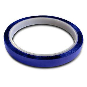 6MM X 33M Blue Heat Resistant Polymide Mug Press Tape