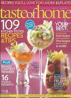 A Taste Of Home Magazine Recipes Breakfast Brunch Desserts Fried Chicken Pizza