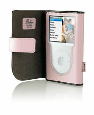 New Belkin Leather Folio Case for All iPod Classic 160gb 120gb 80gb F8Z207 Pink