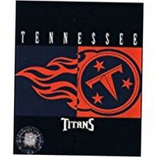 NFL Tennessee Titans Blanket All Pro Twin 60 x 80 oversized Throw Acrylic new