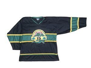 Vtg Authentic Lafayette La IceGators Hockey Jersey  Rare Cajundome XXL Rare