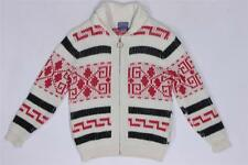 Vintage Pendleton Big Lebowski Dude Cardigan Cowichan Wool Sweater Jacket M