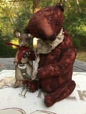 MashaLe * OOAK ARTIST TEDDY BEAR * GANRIETTA * NEW STOCK